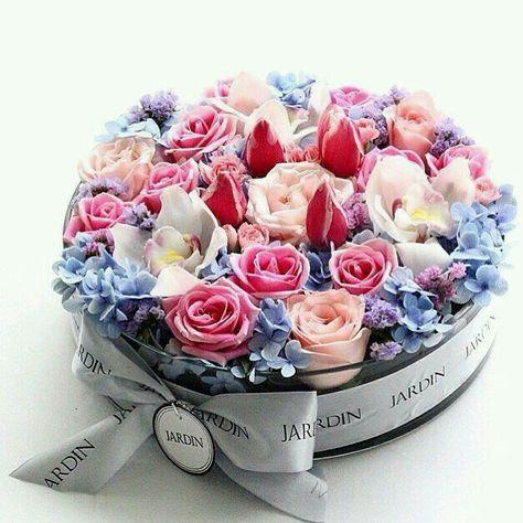 กล่องของขวัญจากดอกไม้สุดแสนพิเศษ